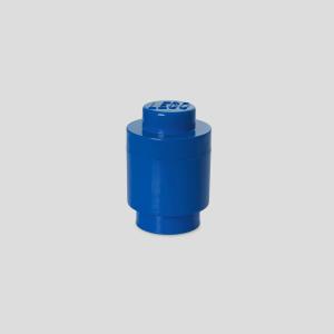 Caixa de arrumação Storage Brick Lego 1 Redonda – Azul